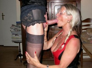 Maria a granny mistress sucks dick like only a british mature can do