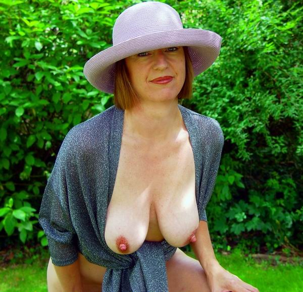 seductive granny thinks all the day about still has awesome hot tits for her age