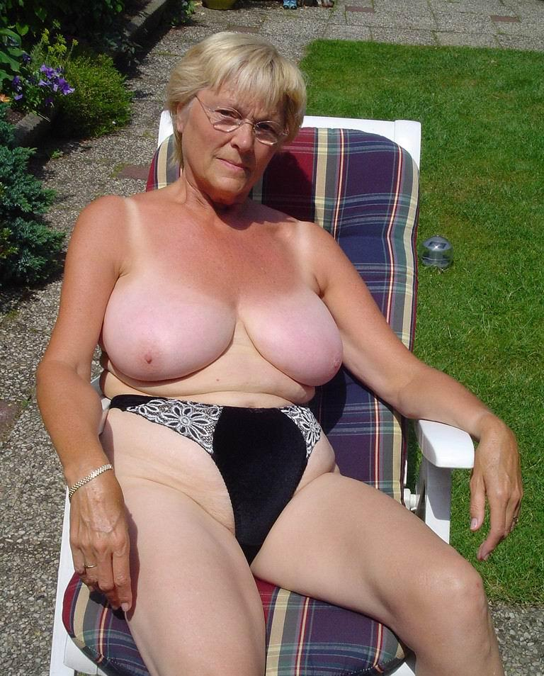 seductive granny wants to have very soft