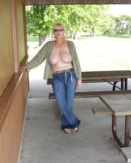 Madeleine ,a  lustfull granny who  to give  boobs tug