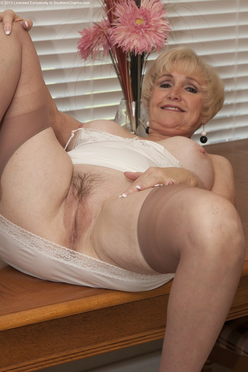 Esmeralda ,a  perverted granny who regulary has daydreams to take it  deep in her slit
