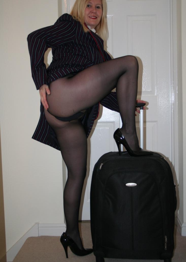 Elisabeth a seductive granny a slutty bigass oldie on travel duty