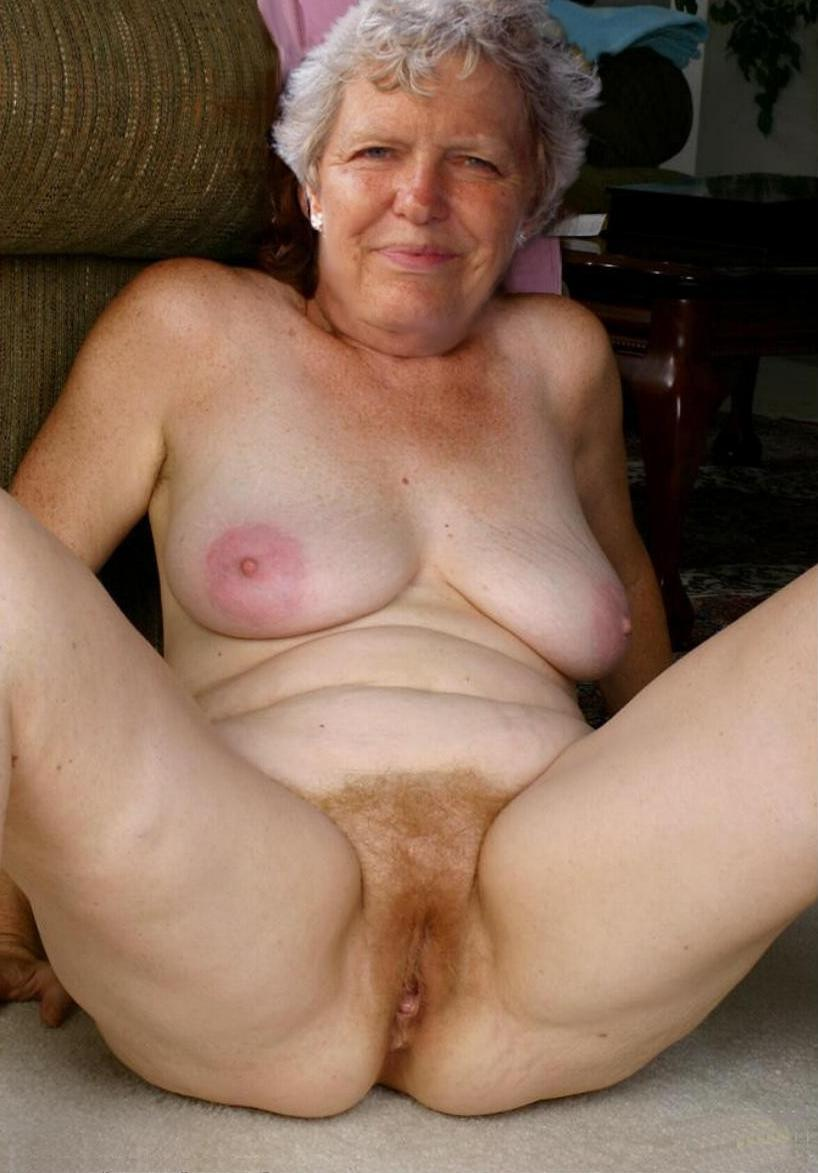 Christian a perverted granny teasing her old buffy muffy hairy pussy
