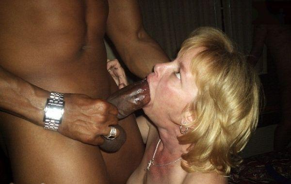 appealing grandmother likes to give blowjob