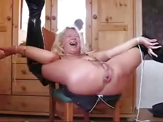 63 old eager ANAL GRANNY just received a load of semen in her asshole by her young stepsun