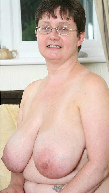 Sophia a 65 old adorable BIG TITTED GRANNY has a huge pair of big melons