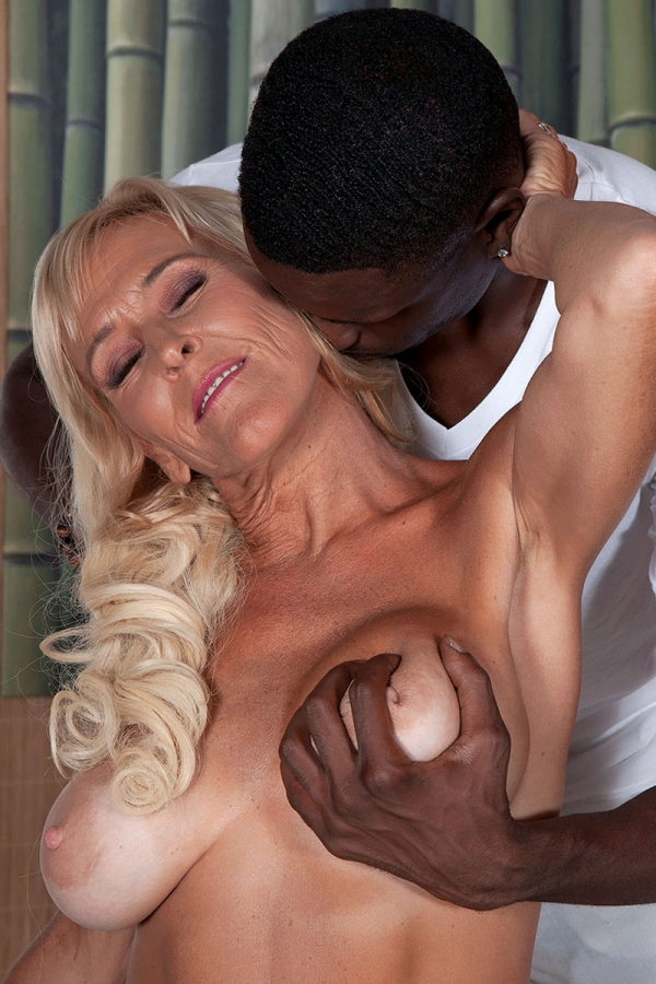 Husband watching wife fuck black cock
