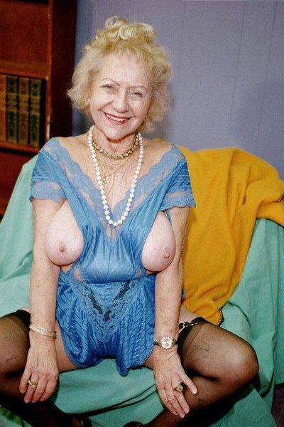 Tasha a 76 old addictive BIG TITTED GRANNY a kinky petite granny with adorable tits wearing cute hold ups