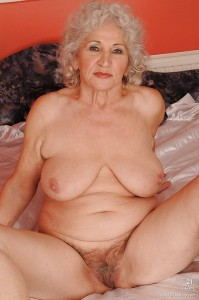 Charlotte a 63 old sexy HOMEMADE GRANNY has a sexy face and a hairy vagina