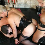 bdsm granny abusing stepdaughter to eat her old pussy #3