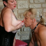 bdsm granny abusing stepdaughter to eat her old pussy #4
