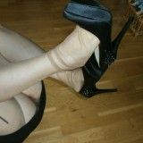 kinky old german mature in nylons  #6