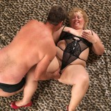 young guy enjoys good old fashioned sex in missionary position with fatty granny #9