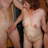 old hot oma granny gangbanged by three young guys #5
