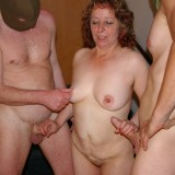 old hot oma granny gangbanged by three young guys #6