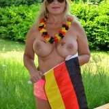 sexy german granny at a nudist camp #2