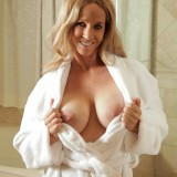 cute exploited mom shows her huge tits #7