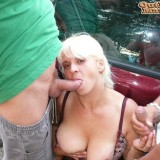 drive by blowjob by granny  #2