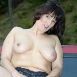 striptease with sexy american amateur mature #9