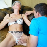 first blowjob from granny #4