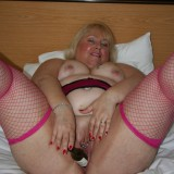 ugly old british mature orgasming #1 #1