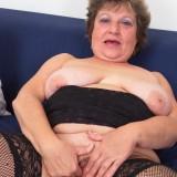 lonley granny orgasm #8