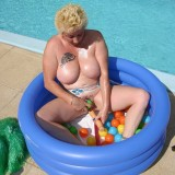 big titted gilf plays her old wet cunt #9