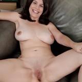 cuckold cougar milf spreads her cunt #4