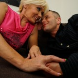 blonde skinny granny  #3