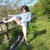 hairy asian granny doing a striptease #2