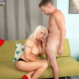 Veronica Vaughn preparing for anal sex #6