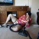 fatty granny wanking with hoover #2_thumb