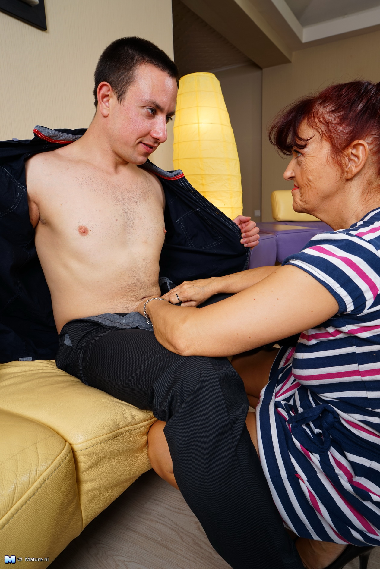 young guy penetrating grandmother #1
