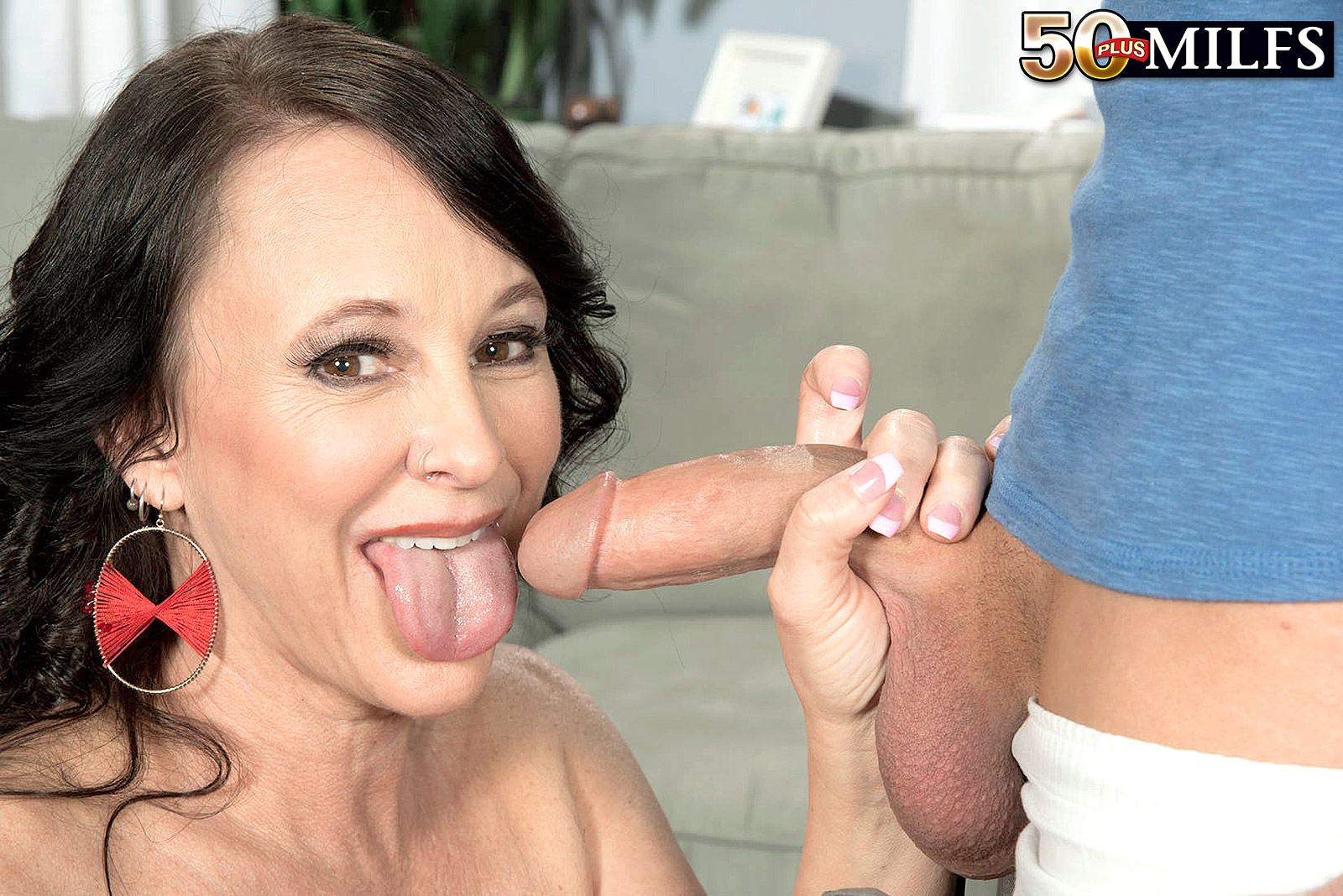 Lexi Ambrose 55 years old from east coast delivering an  unforgettable  blowjob  to a schoolboy
