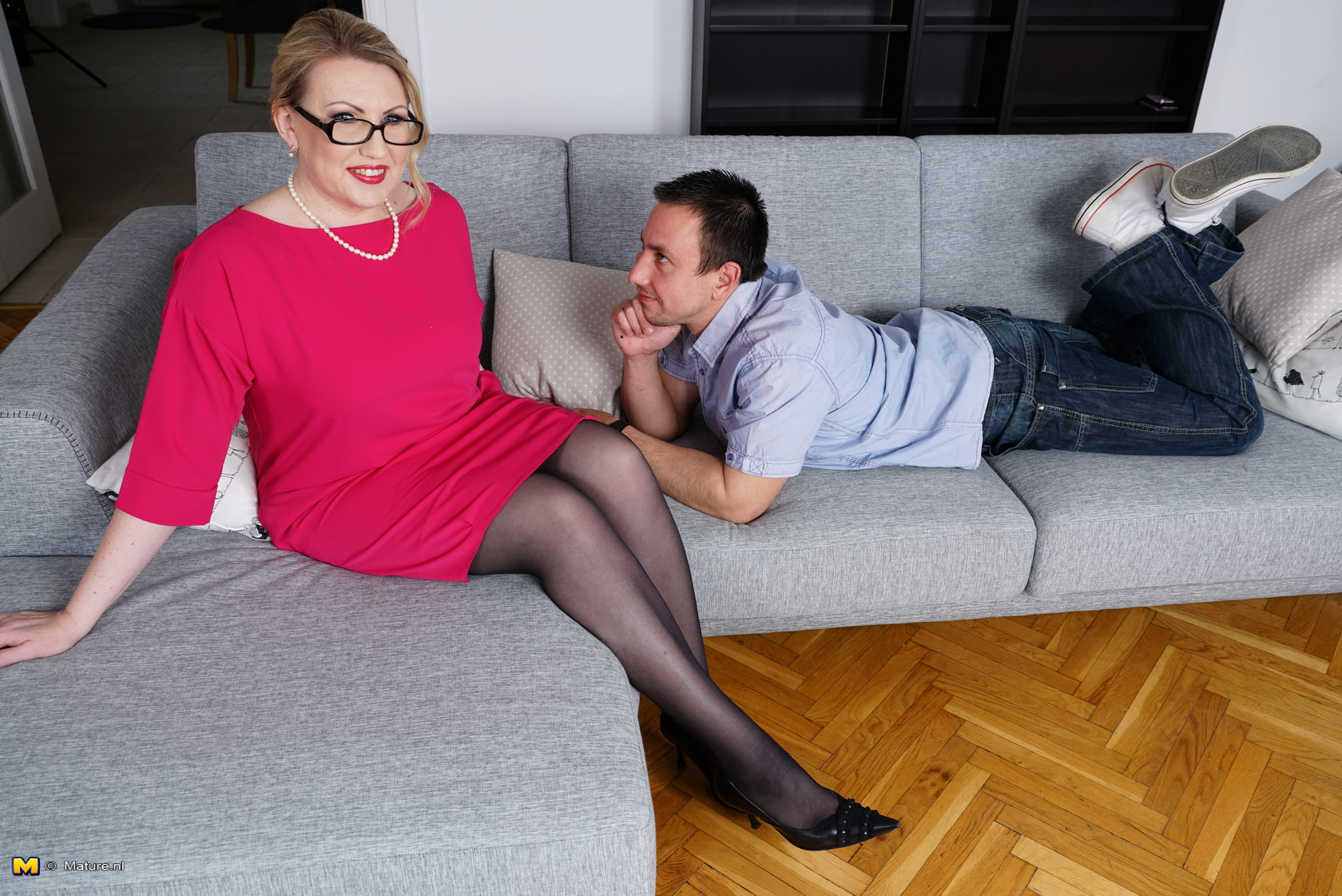 happy nerd dated his former english teacher and got deep inside her old wet vulva