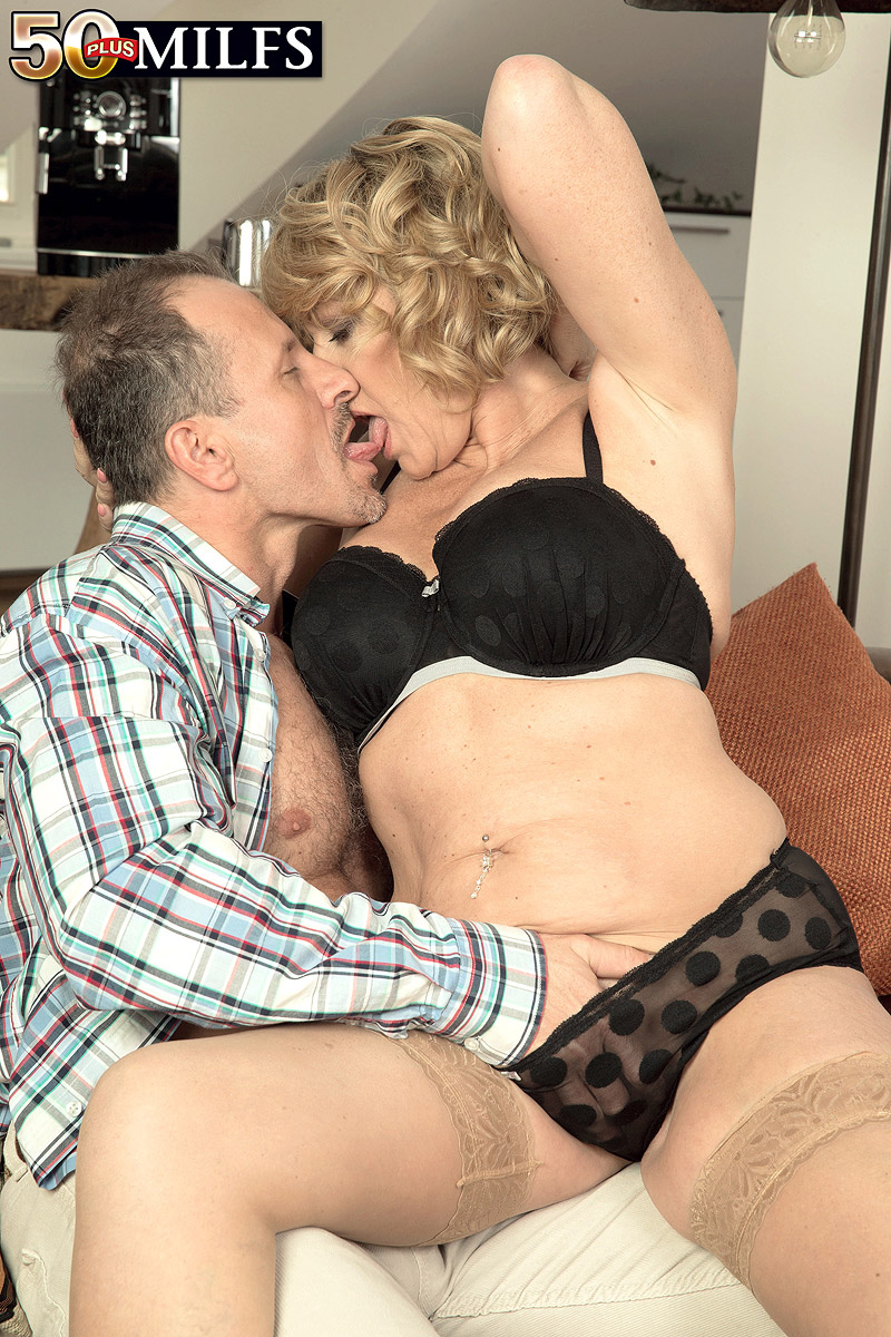widow sex with british granny amy #1