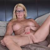 granny masturbating at home #5_thumb