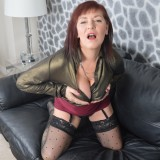 poping a load on grannys downblouse #2_thumb