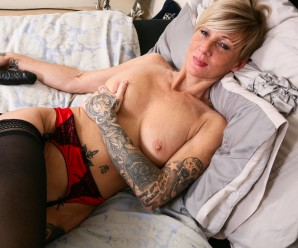 sexy athletic and skinny 50 years old german business mature in perfect shape