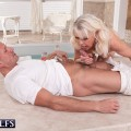 60plus gilf lady s rewards her masseur with an unforgettable oral orgasm