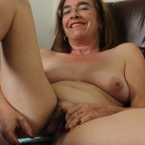 kinky american mature wife exposing her panties and wet slit inside her home office #8_thumb