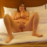 sexy old lady flashing naked in the hotel room and waiting for the roomservice #9_thumb
