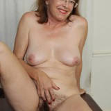 kinky american mature wife exposing her panties and wet slit inside her home office #2_thumb