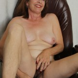 kinky american mature wife exposing her panties and wet slit inside her home office #9_thumb