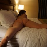 sexy old lady flashing naked in the hotel room and waiting for the roomservice #8_thumb