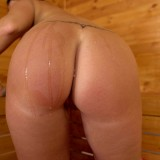 hot mature wife invites her stepson inside the sauna for a common wank #8_thumb