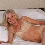 slender golden ager pamela, aged 62  toys her tighty hairy granny cunt with her fingers only #8_thumb