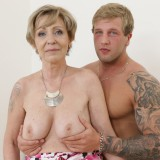 oma is so happy about her new young lover , he can eat her pussy like no other man in her life before #13_thumb