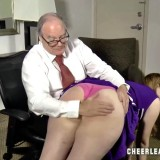 grandpa feels lustfull again when punishing his cheerleader granddaughter #9_thumb