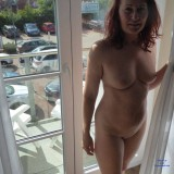 desperate redhead mature lonley in the big city flashing her beautiful cunt #2_thumb